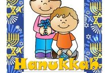 Hanukkah Theme / This is a collection of Hanukkah themed resources for your preschool, pre-K and Kindergarten aged children, to use both at school and at home. Make hands-on, interactive learning games and activities with these creative free, and low-cost printable pages.