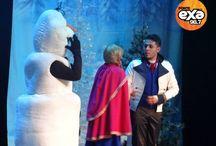 """¡Exa presente en Frozen el musical! / ¡Ponte Exa con esta gran presentación de la obra de teatro """"Frozen""""!"""
