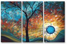 πίνακες ζωγραφικής για σαλόνι