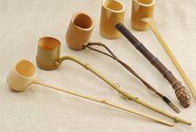 Bamboo kitchen set