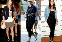 Saddle Shoes  / Outfit inspiration for saddle shoes