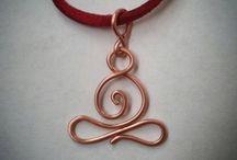 wire pendants