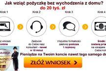 Pożyczki / Pożyczki zamieszczone na stronie www.pozyczki-ok.pl są zawsze aktualne i szybko dostępne przez Internet.