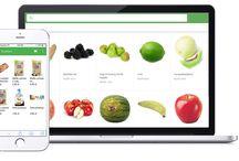 Rushket / Aplikacja Rushket - zamów zakupy z błyskawiczną dostawą do 60 minut.
