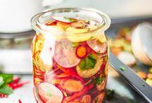 Recepty saláty, uskladnění a nakládání zeleniny