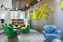 Sberbank coworking space / Молодежное пространство Сбербанка