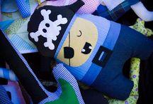 Chiribambola: muñecos almohadones