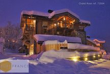 Luxury Ski Chalets / We offer luxury ski resort chalet and apartments for sale and rental in the French Alps. Courchevel, Meribel, Megève and more.