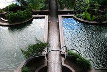 Water gardens / ladscape