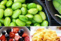 Healthy snacks/food