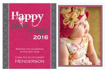 New Year's Ideas / New Year's Eve Party Invitations, New Year's Photo Cards, New Year's Party Ideas