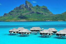 Amazing honeymoon destinations / The most romantic places to honeymoon