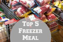 Freezer Meals / Freezer meals for new moms, freezer meals for pregnant moms, freezer meals for work at home moms, Freezer meals for large families, freezer meals healthy, once a month cooking