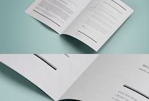 Mockups   Brochures + Flyers / Free and paid PSD mockups of brochures, including A3, A4, Letter, DLE and Square, in flat, half fold, trifold four fold and more!