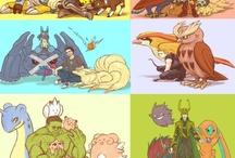 Marvel & Pokemon