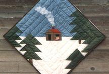 log cabin arbol