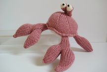 Crabs / Crabs and lobsters to knit, sew and crochet