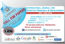International journal / IJSRD is a leading e-journal, under which we are encouraging and exploring newer ideas of current trends in Engineering and Science by publishing papers containing pure knowledge. The Journal is started with noble effort to help the researchers in their work and also to share knowledge and research ideas. All research interested scholars are given best opportunity to make world aware of their work.