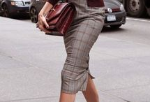 Outfity - pozdrové sukně