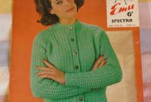 Vintage Kntting and crochet patterns