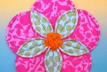 origami skládaný patchwork / ruční práce
