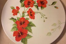 Porselen çalışmalarım/my porcelain work