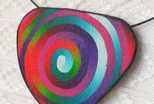 Fimo rainbow / Tutorial fimo, spiral, rainbow. Duhová spirála fimo.