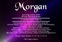 Things about Morgan
