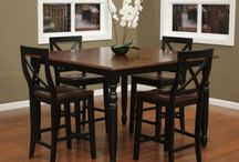 High-Top Dinning / Dinning room tables and chairs, considered High tops