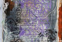 Kalligrafiaa ja kirjaimia