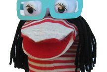 School / Sock puppet
