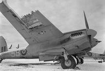 Mosquito / Diverse bilder av DH-98 Mosquito