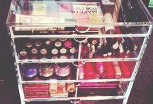 maquillaje y organizador