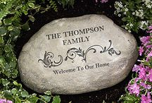 """For Garden Lovers / We've put together a board full of great ideas for planning your own garden or outdoor space, as well as great tid bits and gift ideas that we think garden lovers will enjoy! As a """"Thank You"""" for following us, use code PMALLPINS at checkout to get free shipping on orders of $65 or more! #garden #personalized #personalizedgarden #gardenstone #gardenflag #outdoordecor #personalizedgarden #customgarden #gardengift"""