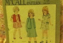 Vintage Sewing Patterns / patterns from 1920'-1980's / by Evelyn Jensen