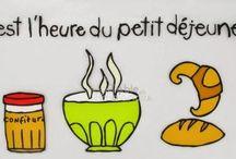 Grammaire francaise- L'article partitif (Francia nyelvtan-Az anyagnévelő) / Szint: A2 Osztály:Attól függően,hogy a gyerekek hányadik osztályban kezdtek franciát tanulni, lehet szó 6. vagy 10.osztályról.  A tábla célja egy francia nyelvtani sajátosság,az anyagnévelő megtanítása az ételek, italok neveinek elsajátításával párhuzamsan.