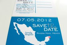 invites and save the dates / by Meredith Berry