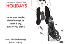 Why you need me in your life these Holidays!! / The Holiday Season is all about being practical while getting 100 things done all while on the move... The Snap4 & Snap Duo strollers by Valco Baby were created to help you get through the Holidays we ease.  / by Valco Baby