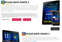 Interactive math apps aligned to common core standard / Splash Math apps have been the winner of the Best App Ever Award 2011 in Elementary Student App category, Tabby Awards 2012 and Approved & Recommended by Parents' Choice. / by Splash Math - Fun Math Practice for Kids