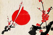 Sumi-e & Watercolor