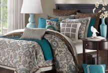 Gray Teal Bedrooms