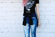 Look jeans destroyed