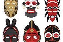 afrikaanse maskers