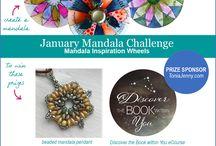 Monthly Mandala Challenges & Contests