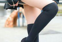 脚:絶対領域