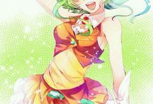 Gumi megpoid / A board decided to Gumi Megpoid!! She is soo awesome and she is my favorite vocaloid girl❤️