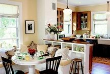 Kitchen Stuff & Dining Areas (indoor) / The heart of our home, where meals are created and shared and life long memories are made. / by Paula Coombs