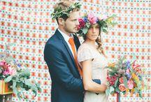 Mariage Bohème / Hippie Chic - Boho Wedding / Des idées pour un Mariage Hippie Chic - Ideas for a Hippie Chic Wedding