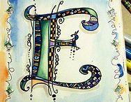 lettre zentangle