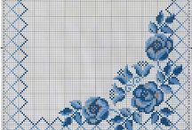 kék teritők